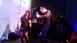 Eva und Denis on Stage